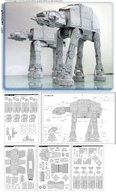 Star Wars - Papercraft AT-AT