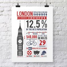 inforgraphic posters london #Love #London
