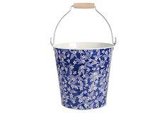 Blue Blossom Pail on OneKingsLane.com