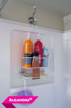 Add a Second Shower Caddy for Added Storage #Alejandra.tv
