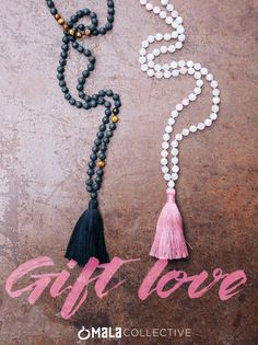 Valentine's Day is a beautiful reminder to show love and appreciation for others, and honor and love ourselves. Gift love and intention to your special someone with handmade mala beads from Bali.