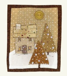 christmas house by Sharon Blackman