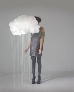 Felt personal raincloud