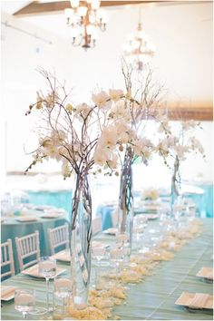 We Love These Sweet Wedding Centerpieces - MODwedding #weddingcenterpieces