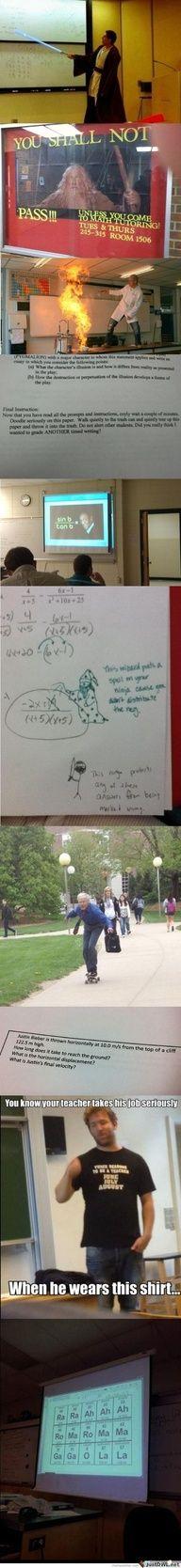 We Need More Teachers Like This...