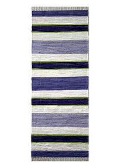 Kodin1 - Vallila Matto Lauttasaari | Puuvillamatot Textiles, Rag Rugs, Textile Products, Weaving, Carpet, Lilac, Folk, Home Decor, Stripes