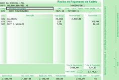 Modelo Holerite Contra-cheque Editável No Excel Frete Grátis - R$ 19,99 no MercadoLivre