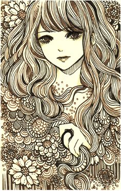 Zentangle - pulp by koyamori.deviantart.com on @deviantART