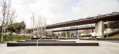 Skate Park Jardines de Aureà Cuadrado / Scob + Sergi Arenas