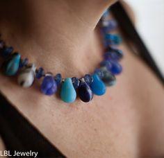 Old Mali wedding bead necklace. by LBLJewelry on Etsy