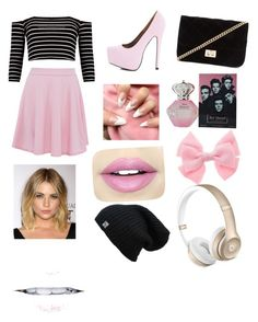 """""""Untitled #1"""" by helena-rofa ❤ liked on Polyvore featuring AX Paris, Forever 21 and Fiebiger"""