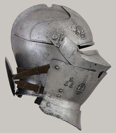 Armet with Wrapper, ca. 1460–70 (armet), 1450 (wrapper)  Italian  Met