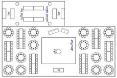06f43811627ce6815e2592ea6e93ccf0  wedding reception layout floor plans wedding reception seating - How to Set Up Your Space and Get the Most out of Your Venue Layout
