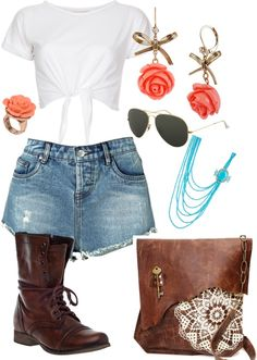 """""""Combat casual"""" by bkeenan on Polyvore  My first polyvore creation!!!"""
