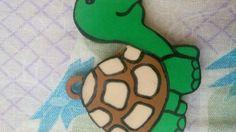 Kaplumbağa eva anahtarlık