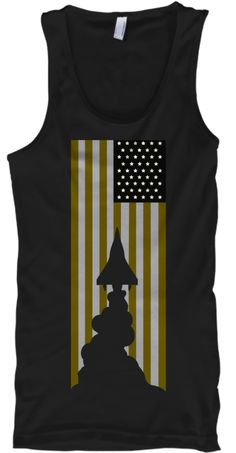 Kaotic American Black T-Shirt Front