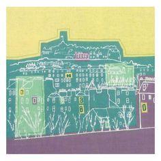 Inverleith Park by Cassandra Harrison   Textile Art   Daisy Cheynes #stockbridgeedinburgh #stockbridge #edinburgh #scotland @daisycheynes