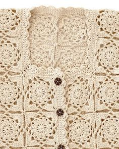 Crochet Bolero Pattern, Crochet Bedspread Pattern, Gilet Crochet, Crochet Coat, Crochet Jacket, Crochet Cardigan, Crochet Motif, Crochet Doilies, Crochet Clothes