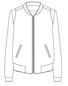 Monia jakke str. XS-XL