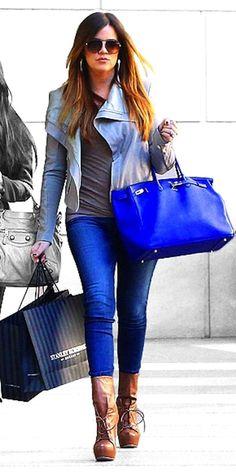 Kloe Kardashian Fashion Star