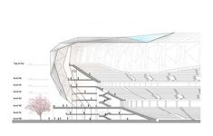 STaDIUM STRUCTURE DRAWING Google Search Diseo De
