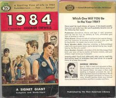 Orwell's 1984 as a pulp novel - Boing Boing