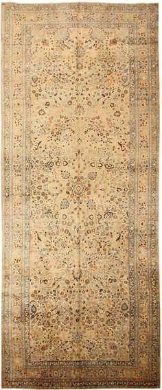 Antique Mashad Persian Rugs 43618 Main Image - By Nazmiyal