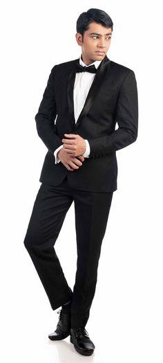 fb020c543 Custom make this perfect shawl lapel black tuxedo for your wedding. Make  sure you wear