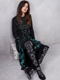 Free People Ombre Mesh Gown, $898.00
