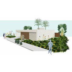 Interpretação visual. @art_cut_out #architecture #arquitetura #casa #house #paisagismo #landscaping #paisagem  #landscape #vegetação #vegetation  #design #colagem #collage  #arte #art