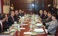Acuerdan ruta para desahogar agenda ordinaria y propuestas del Ejecutivo