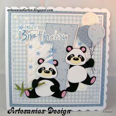 Marianne Design Kreadiva´s: challenge #24 Alles geht mit Marianne Design +Option Happy Birthday