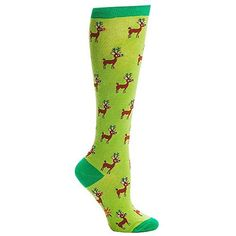 Sock It to Me Reindeer Games Knee High Tube Socks, http://www.amazon.com/dp/B00G2EWE4I/ref=cm_sw_r_pi_awdl_K2u2ub1VWVV6W