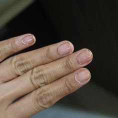 The wire can be used simply to outline the nails. | Wire Nails Are The New Manicure Trend Of Your Dreams