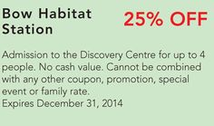 Bow Habitat Coupon Habitats, Special Events, Discovery, Coupons, Promotion, Bow, Activities, Arch, Longbow