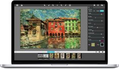 Artisa Haiku—Stylized Watercolor Painting Software. Available for Mac/Win