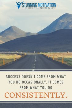 Success is about doing the small thing repeatedly, day in and day out. Motivation Goals, Business Motivation, Positive Quotes, Motivational Quotes, Inspirational Quotes, Power Of Words Quotes, Career Advisor, Success Pictures, Life Purpose