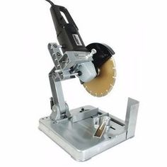Turn Your Angle Grinder Into A Cut Off / Chopsaw I have a Grinder unit and Still in very good condition hardly seen any use Craig 0741123661 Homemade Tools, Diy Tools, Hand Tools, Cheap Tools, Metal Working Tools, Metal Tools, Woodworking Workshop, Woodworking Tools, Cierra Circular