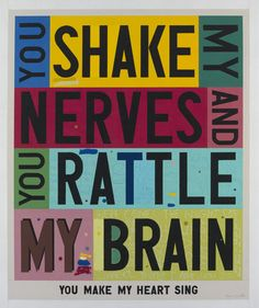You Shake My Nerves