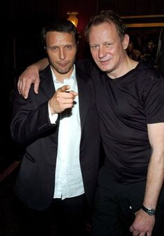 Stellan Skarsgard and Mads Mikkelsen at event of King Arthur