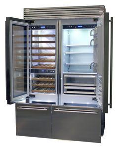 Smeg vrijstaande koelkast RF396RSIXE - Product in beeld - Startpagina voor keuken ideeën | UW-keuken.nl