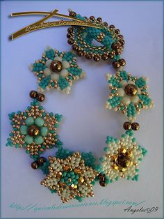 pattern for bracelet Seis Puntas | Beads Magic