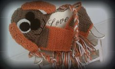Puppy Hat and Scarf Set by LoveyBuggies - #crochet for kids