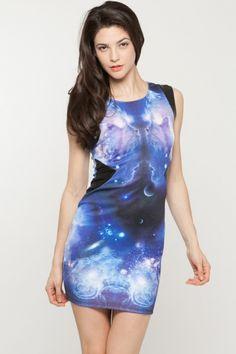 Into The Galaxy Dress