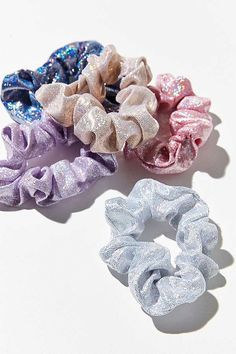 Shop Days Of The Week Scrunchie Set at Urban Outfitters today. We carry all the latest styles, colors and brands for you to choose from right here. Scrunchies, Orange Pastel, Fran Fine, Accesorios Casual, Shopping Day, Ponytail Holders, Mode Style, Hair Ties, Head Wraps