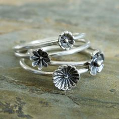 Wildflower Bouquet in Sterling Silver  Tiny Flower by brightsmith, $48.00