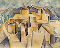 Picasso's African Period - Pablo Picasso, 1909, Maisons à Horta (Houses on the Hill, Horta de Ebro)