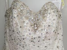 Mori Lee 6744 Crystal Beading On Soft Net Wedding Dress | Tradesy Weddings