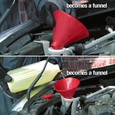 Quick And Easy Cone Snow and Ice Scraper Washer Fluid, Ice Scraper, Car Rear View Mirror, Snow And Ice, 3d Prints, Abs, The Incredibles, Car Accessories, Glass Cleaning