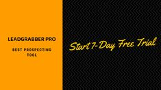 LeadGrabber Pro - Best Prospecting Tool Build your prospect list in a minutes! Try to Start Free Trial [Get 50 Contacts for Free!